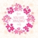 Floral Wreath  - GraphicRiver Item for Sale