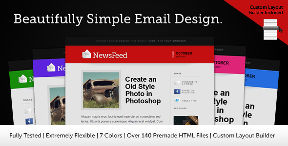 Newsfeed Email Template