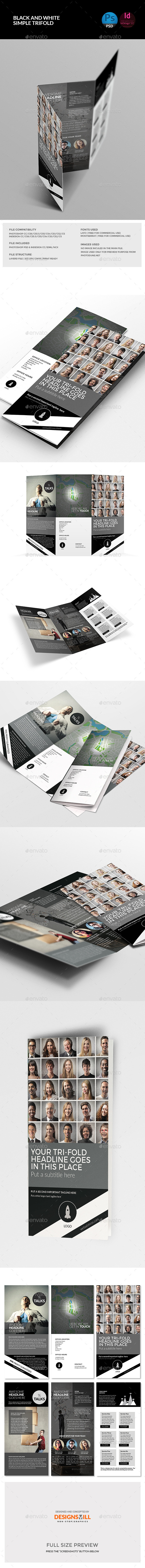 GraphicRiver Trifold Brochure Template 11094625