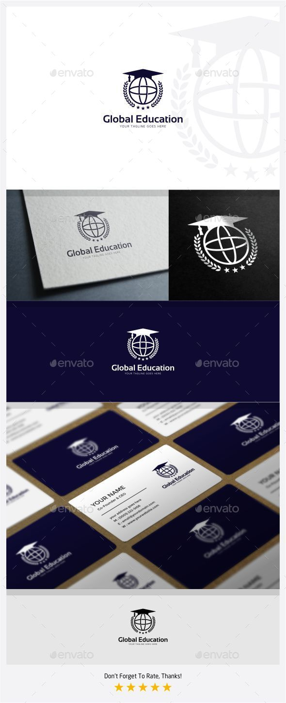 GraphicRiver Global Education Logo 11094766