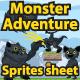 Monster Adventure Sprites Sheet