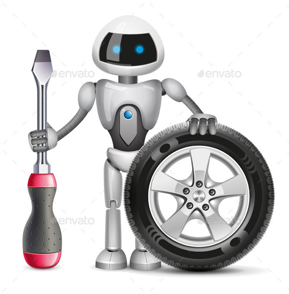 GraphicRiver Robot 11095411
