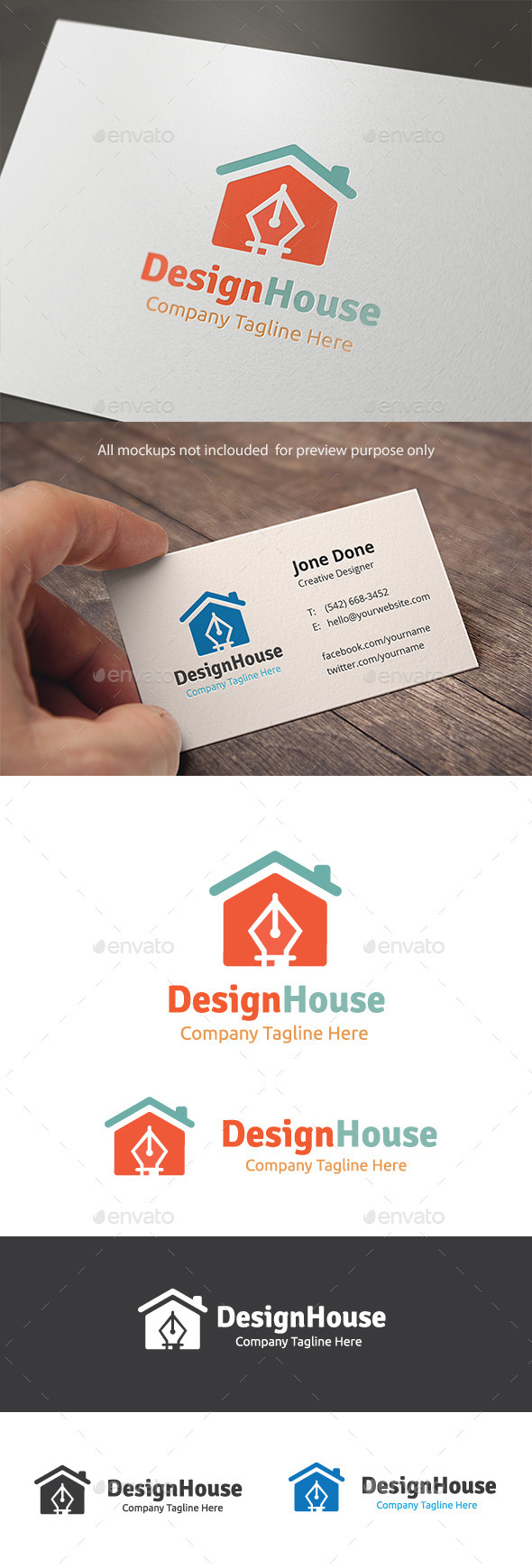 GraphicRiver Design House 11095613