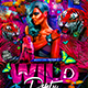 Flyer Wild Party Konnekt - GraphicRiver Item for Sale