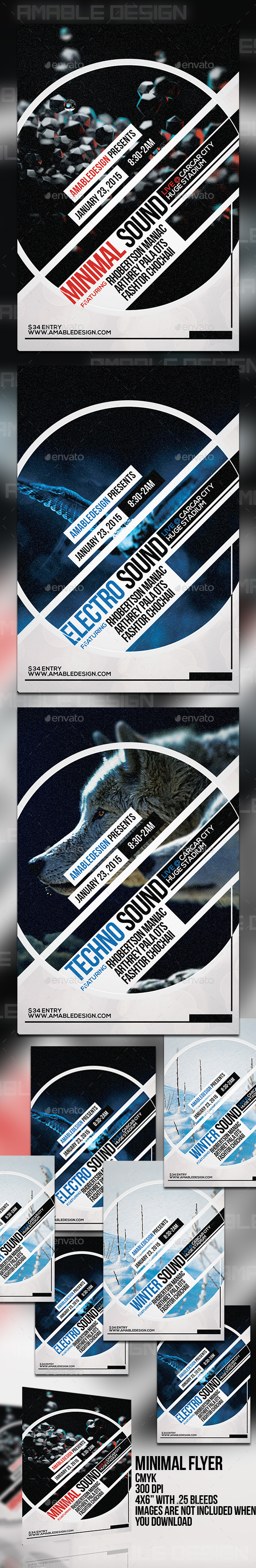 GraphicRiver Minimal Flyer 11095911