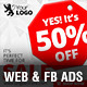 Sale Web & Facebook Ads