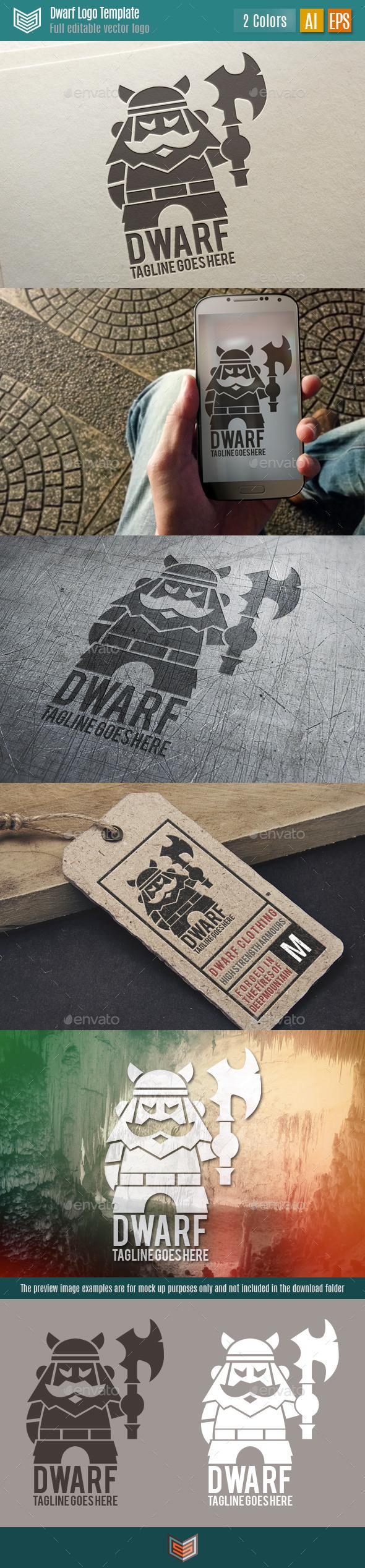 GraphicRiver Dwarf Logo 11096278