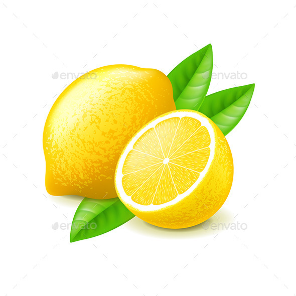 GraphicRiver Lemon and Slice 11096892