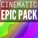 Epic Cinematic Pack - AudioJungle Item for Sale