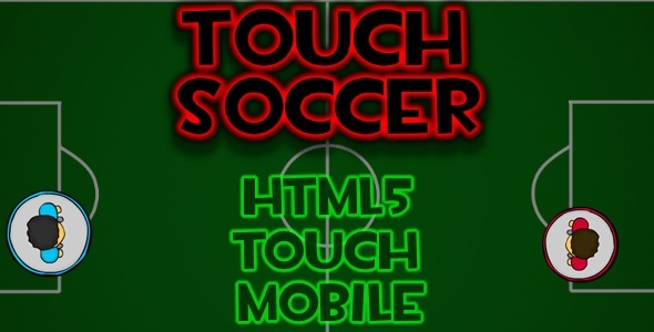 CodeCanyon Touch Soccer html5 Mobile Game 11097069