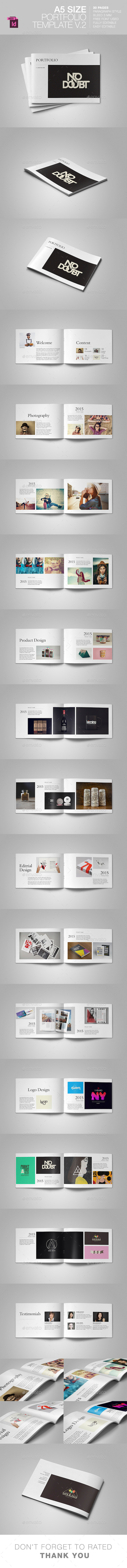 GraphicRiver A5 Portfolio Template V.2 11097371