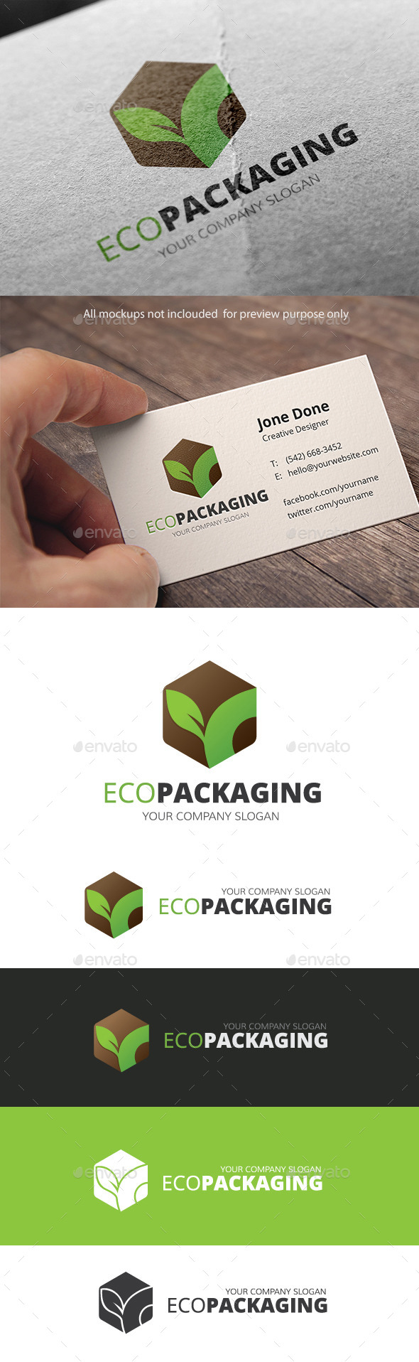 GraphicRiver Eco Packaging 11097387
