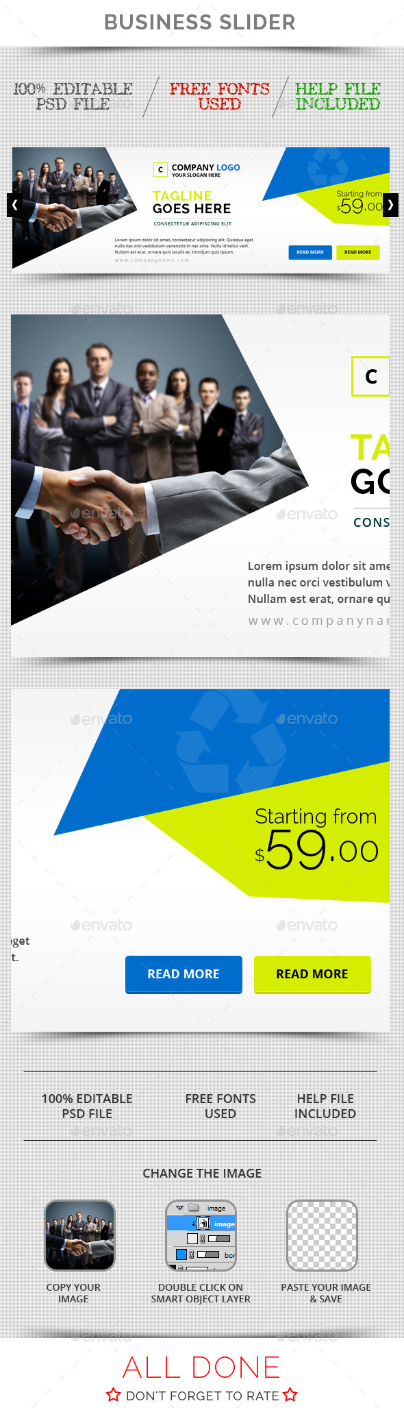 GraphicRiver Business Slider V11 11097874