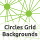 Circles Grid Backgrounds - GraphicRiver Item for Sale