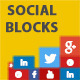 WP Flat Social Profile Blocks