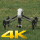 Quadcopter Drone Taking Off and Landing - VideoHive Item for Sale