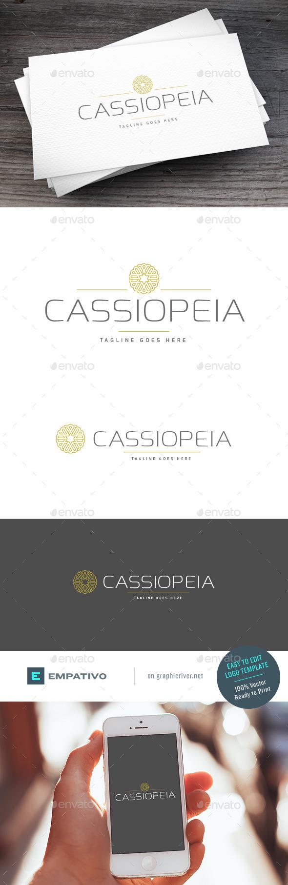 GraphicRiver Cassiopeia Logo Template 11098060