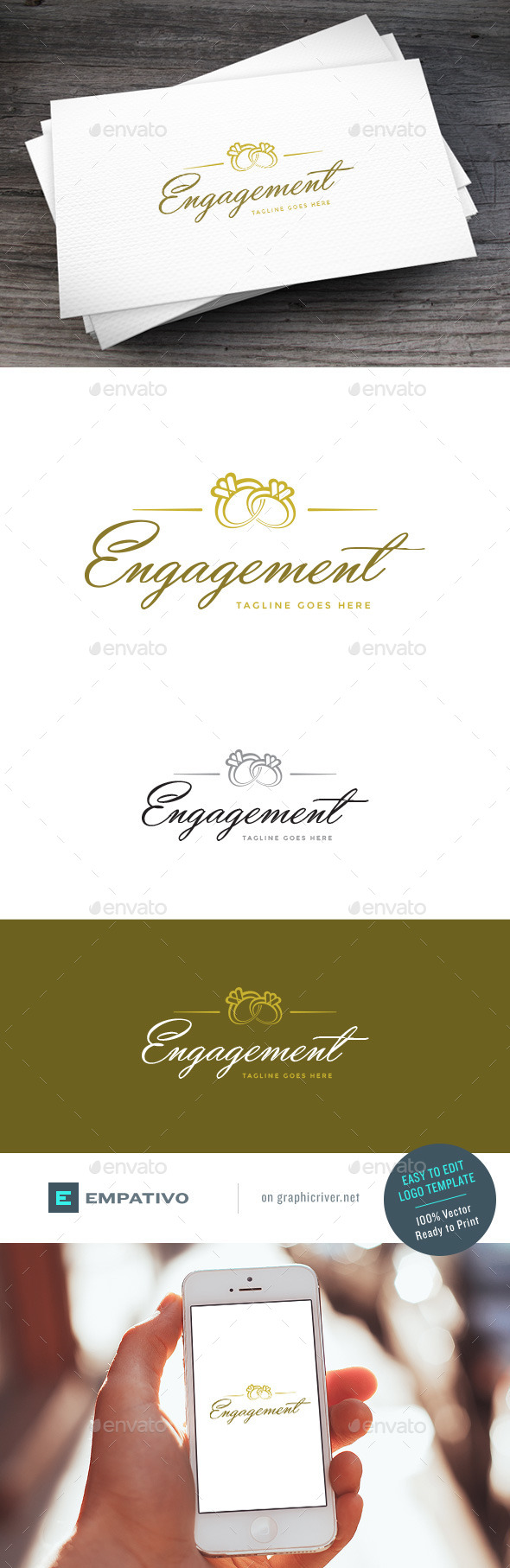 GraphicRiver Engagement Logo Template 11098119