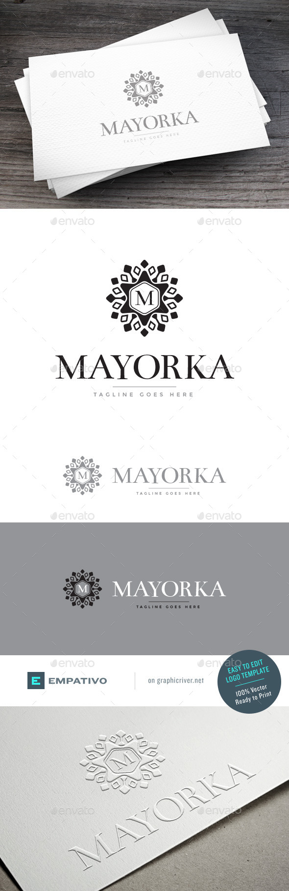 GraphicRiver Mayorka Logo Template 11098331