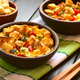 Savory Vegetarian Bread Pudding - PhotoDune Item for Sale