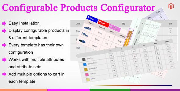 CodeCanyon Magento Configurable Products Configurator 11098484