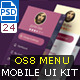 OS8 Menu / Mobile UI Kit - GraphicRiver Item for Sale