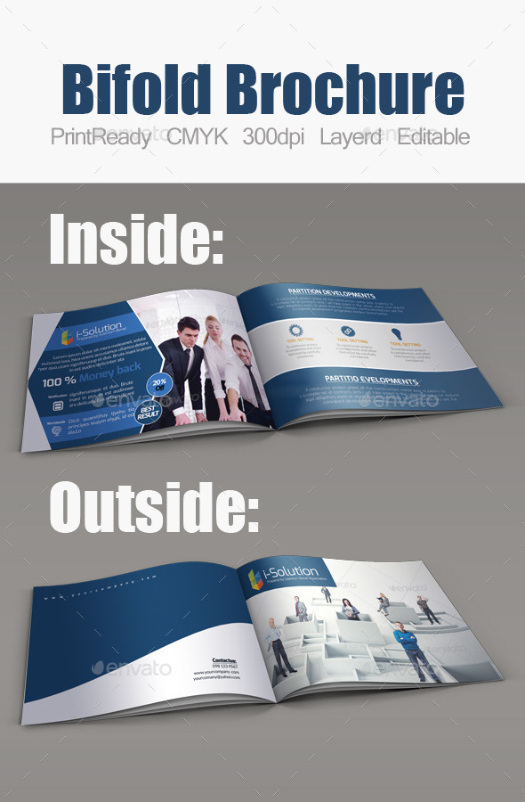 GraphicRiver Business Bifold Square Brochure Template 11098833