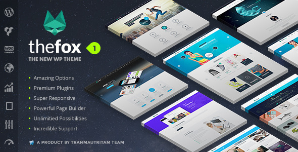 ThemeForest TheFox Responsive Multi-Purpose WordPress Theme 11099136