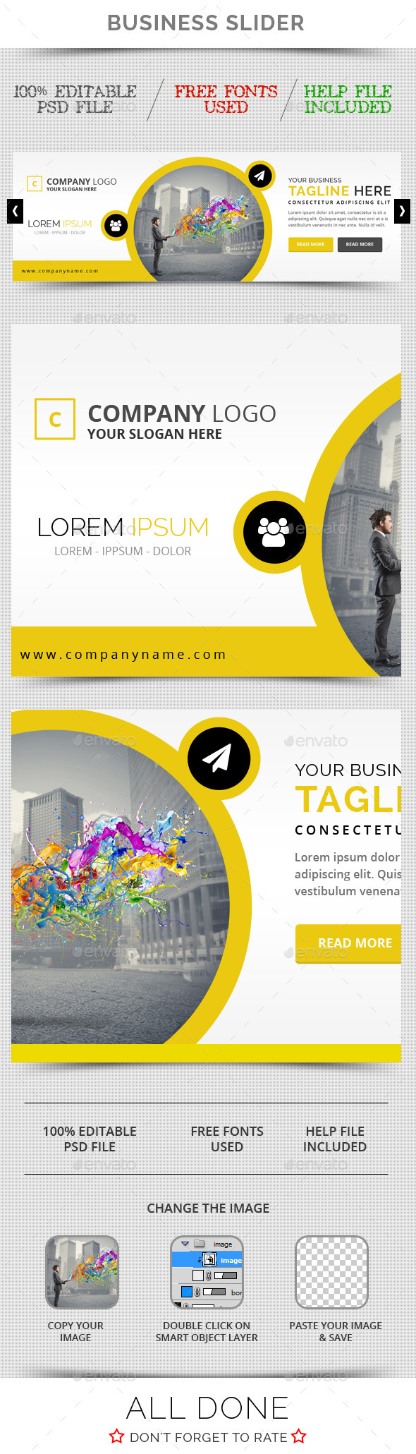 GraphicRiver Business Slider V14 11099169