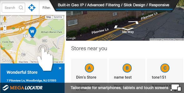 CodeCanyon Mega Locator Theme Super Store Finder 11099221