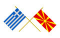 Flags of Greece and Macedonia - PhotoDune Item for Sale