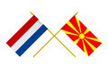 Flags of Macedonia and Netherlands - PhotoDune Item for Sale