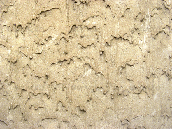 Irregular plaster