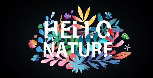 Hello Nature — Floral Vector Pack (Elements)