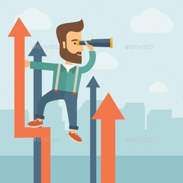 GraphicRiver Successful Businessman 11100707