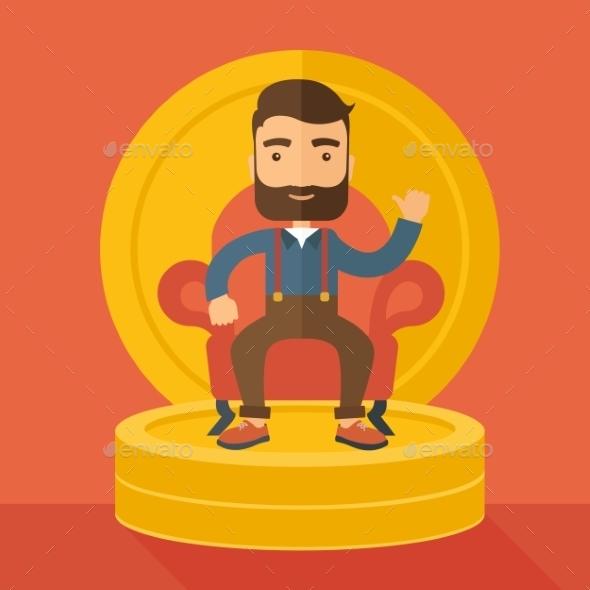 GraphicRiver Successful Businessman 11100726