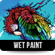 Wet Paint Photoshop Action - GraphicRiver Item for Sale