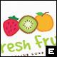 Fresh Fruit Logo Template - GraphicRiver Item for Sale