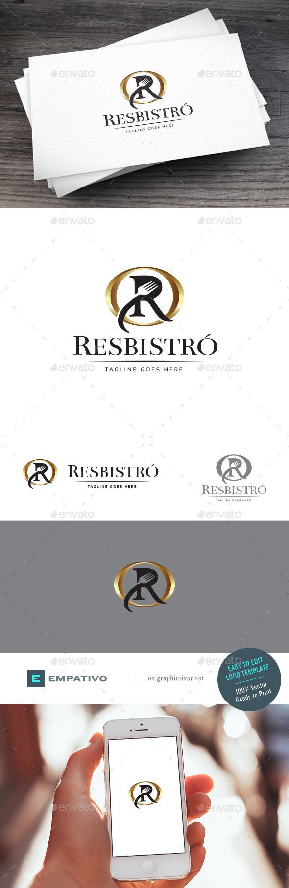 GraphicRiver Resbistro Logo Template 11100987