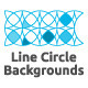 Line Circle Backgrounds - GraphicRiver Item for Sale