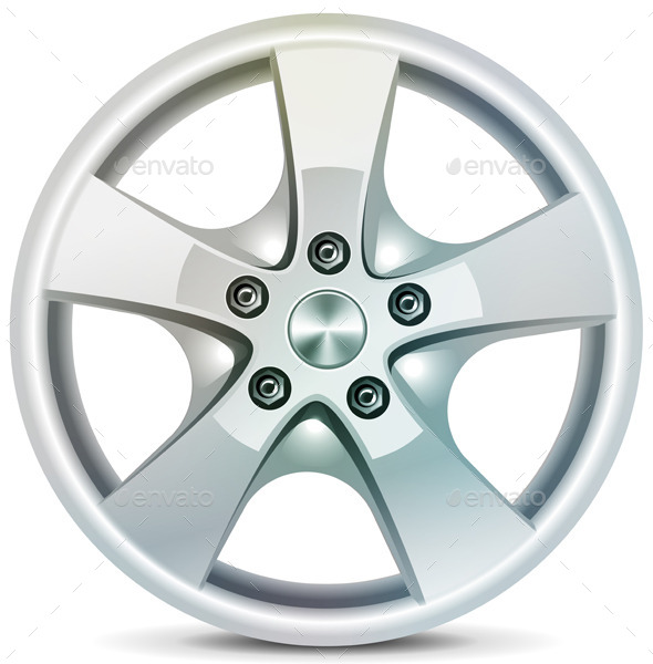 GraphicRiver Wheel Rim 11102145