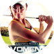 Womens Golf Tournament Sports Flyer - GraphicRiver Item for Sale