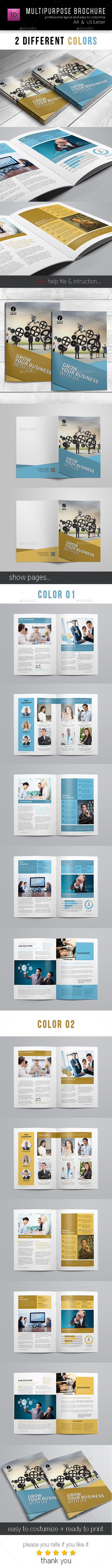 GraphicRiver Corporate Business Brochure 12 pages A4 & Letter 11102435