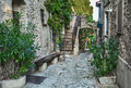 Narrow cobbled street in old town - PhotoDune Item for Sale