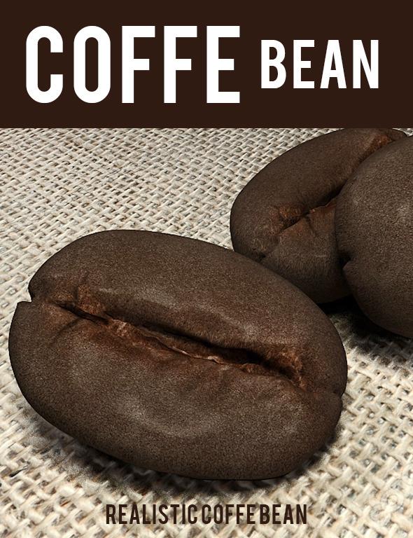 caffe bean - 3DOcean Item for Sale