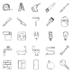 Set of Sketch Home Repairing - GraphicRiver Item for Sale