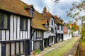 Street of quaint houses in Rye. - PhotoDune Item for Sale