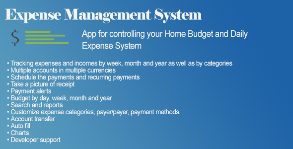 CodeCanyon Daily Expense Management System 11030485