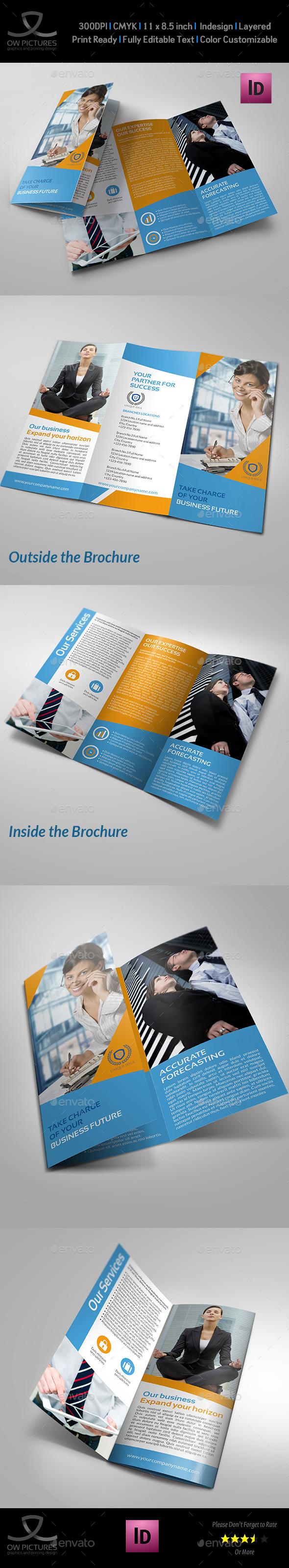 GraphicRiver Company Brochure Tri-Fold Brochure Vol.19 11103539