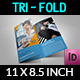 Company Brochure Tri-Fold Brochure Vol.19 - GraphicRiver Item for Sale